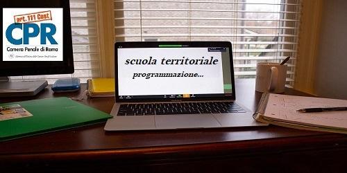 Scuola Territoriale: coordinamento e programmazione.
